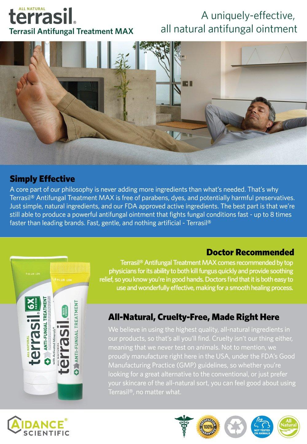 Amazon Com Terrasil Anti Fungal Treatment Max Anti Fungal