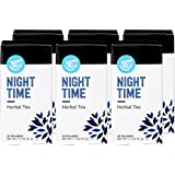 Amazon Brand - Happy Belly Herbal Tea Bags, Night Time, 20 Count (Pack of 6) (Previously Solimo)