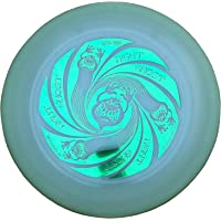 Discraft Ultimate Frisbee Ultra Star Ghost Night Glow - Noctilucent de Color Verde metálico