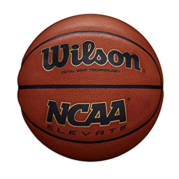 Wilson WTB2601XD07 Pelota de Baloncesto NCAA Elevate Cuero ...