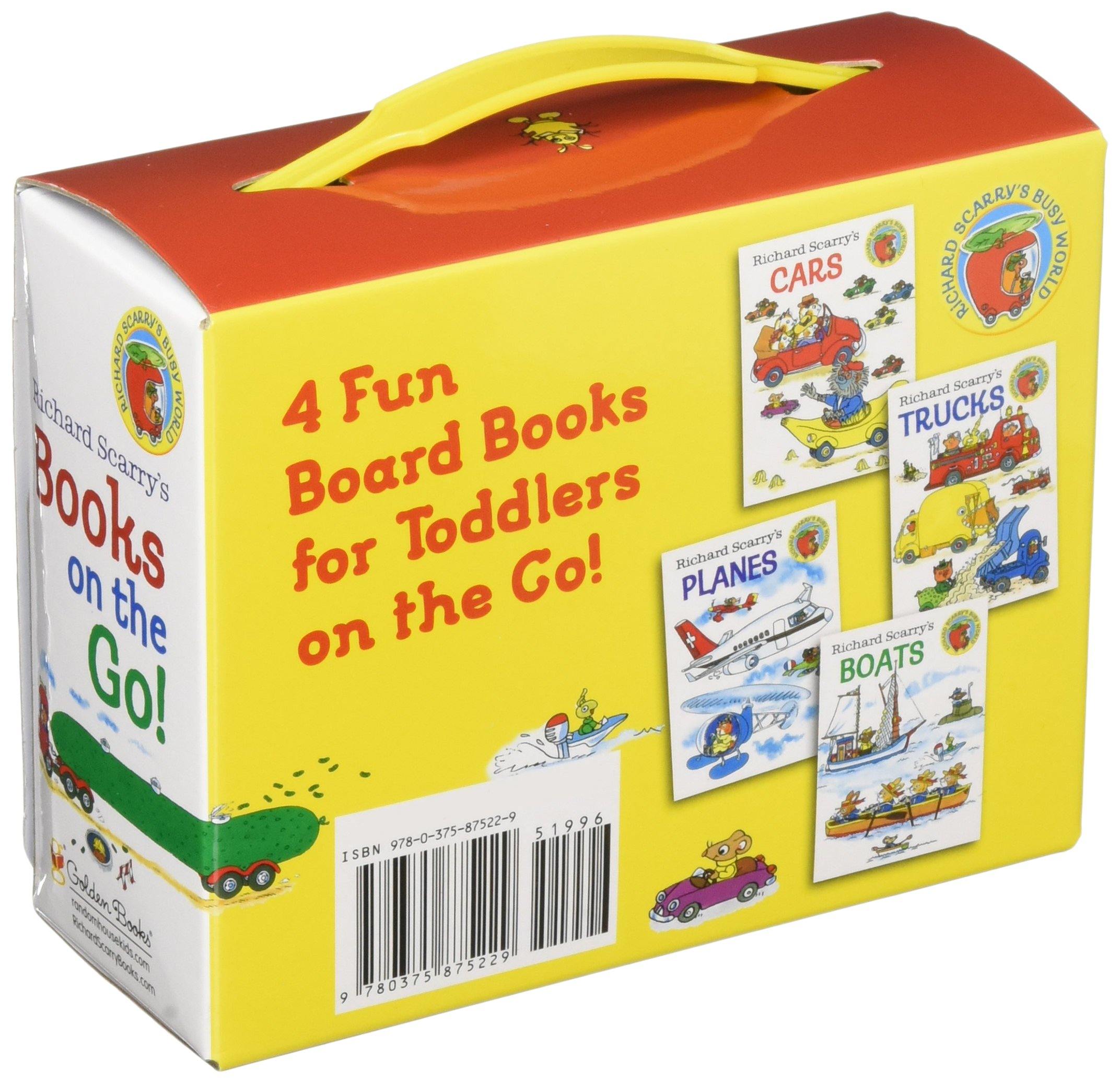 Richard Scarry's Books on the Go by Golden Books (Image #2)