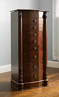 Amazoncom Hooker Furniture 50050757 French Jewelry Armoire