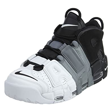 86cb5a03e8 Nike Mens Air More Uptempo '96 Basketball Shoes Black/Black-Cool Grey/White  921948-002 Size 11: Buy Online at Low Prices in India - Amazon.in