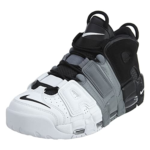 4e673be837e4 Nike Mens Air More Uptempo  96 Basketball Shoes Black Black-Cool Grey White  921948-002 Size 11  Buy Online at Low Prices in India - Amazon.in