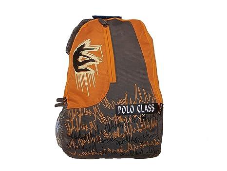 a05e115e5bb3 Polo Class Orange Back Pack PC- 81  Amazon.in  Bags
