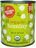 Natural Value Organic Hominy 30 Oz, 6 Count