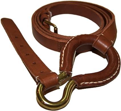 Ralph Lauren Polo Collection cinturón de cuero ecuestre para mujer ...
