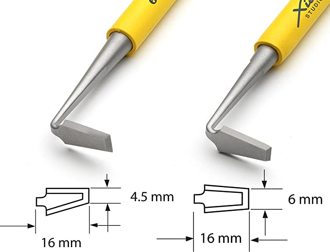 Double-Ended XST18-10131 Xiem Tools Trimming Tool for Pottery and Ceramics