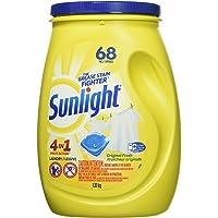 Sunlight 4-in-1 Multi-Action Single Dose Laundry Detergent, Original Fresh, 68 Count
