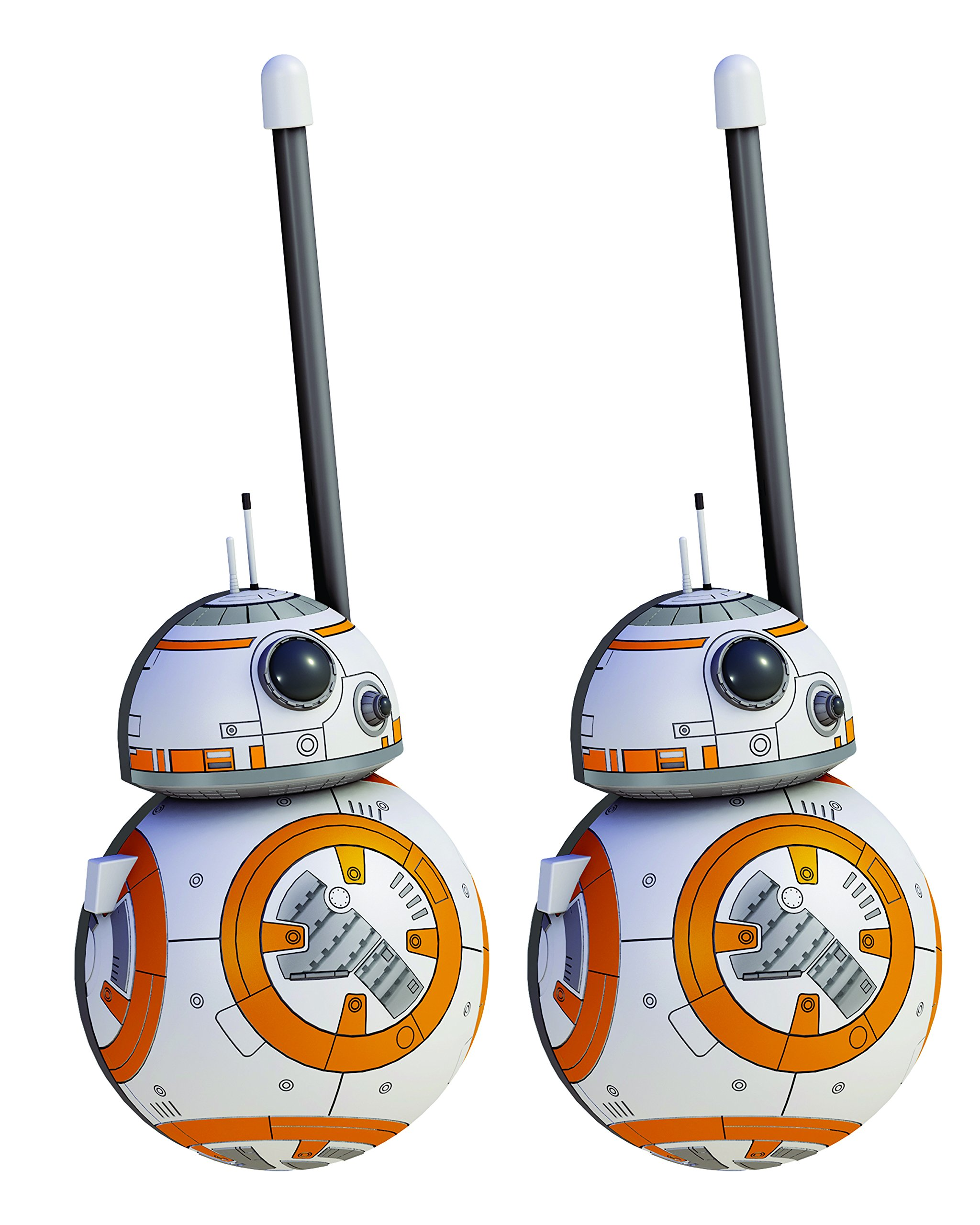 Star Wars BB8 Walkie Talkies for Kids Static Free Extended Range Kid Friendly Easy to Use 2 Way Walkie Talkies