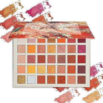 ONLYOILY Paleta De Sombras De Ojos Profesionales - Paleta Maquillaje - Altamente Pigmentados 35 Colores Brillantes y Mate
