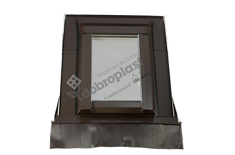 Satisfacci/ón Garantizada claraboya Skylight PVC 78/x 118/pl/ástico con eindeck Marco UG = 1,0/W2mk