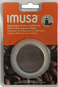 IMUSA USA Replacement Gasket & Filter for IMUSA Electric Moka/Espresso Maker
