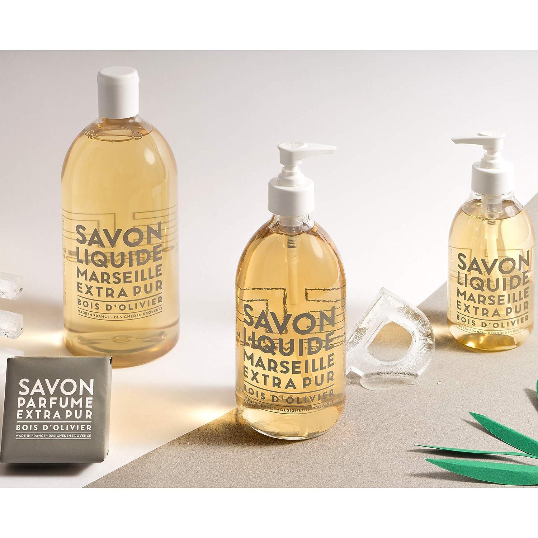 Compagnie de Provence madera de olivo Recambio Jabón de Marsella Líquido 1L: Amazon.es: Belleza