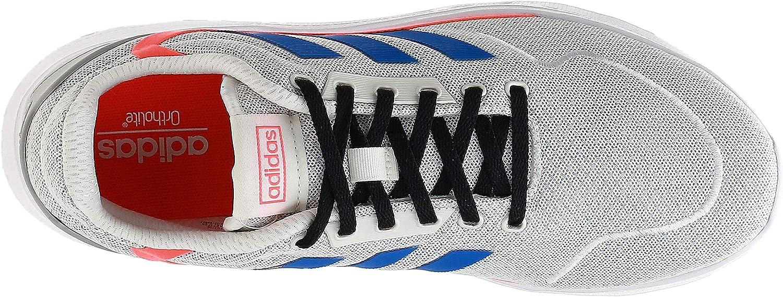 adidas Nebzed, Zapatillas de Running para Hombre Chalk White Glory Blue Solar Red