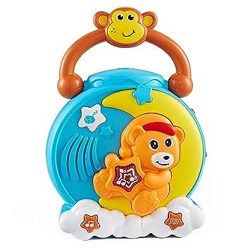 Think Gizmos Oso de Proyección Proyector de 360º TG710 - Juguete Musical de Sueño para los Bebés y Niños Que Tienen más de 1 2 3 4 años