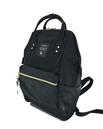Image Unavailable. Image not available for. Color  Anello Nylon Square  Shaped Mini Backpack (Black) d11018a2e9