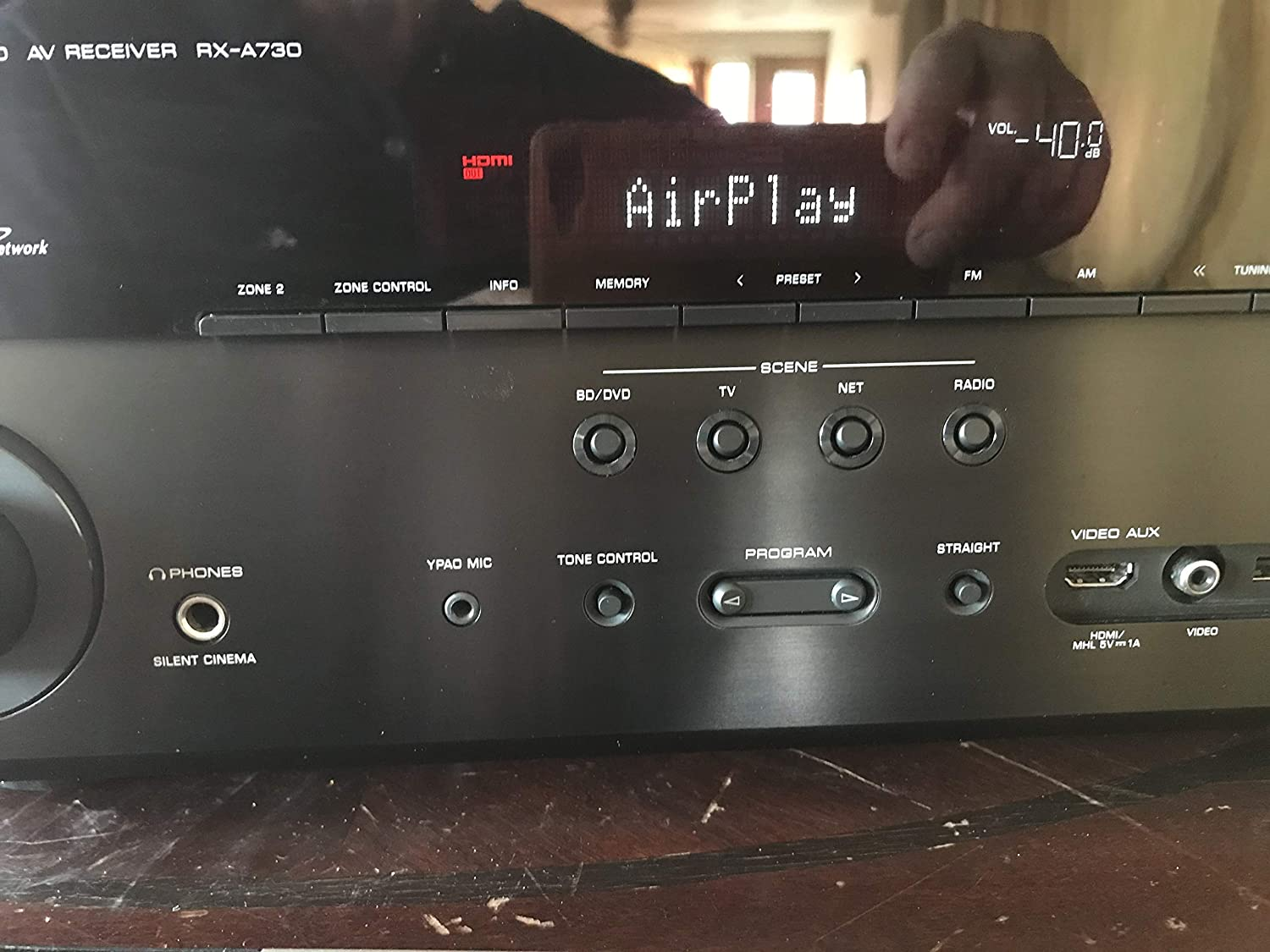 Yamaha RX-A730 7.2-Channel Network AVENTAGE Home Theater Receiver