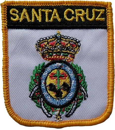 Parche Bordado con Escudo de Santa Cruz de España (1000 Banderas): Amazon.es: Hogar