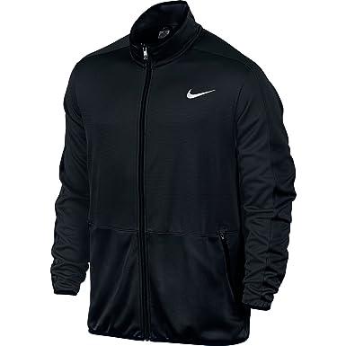 Mens Nike Rivalry Obsidian/Obsidian/White Basketball Jacket