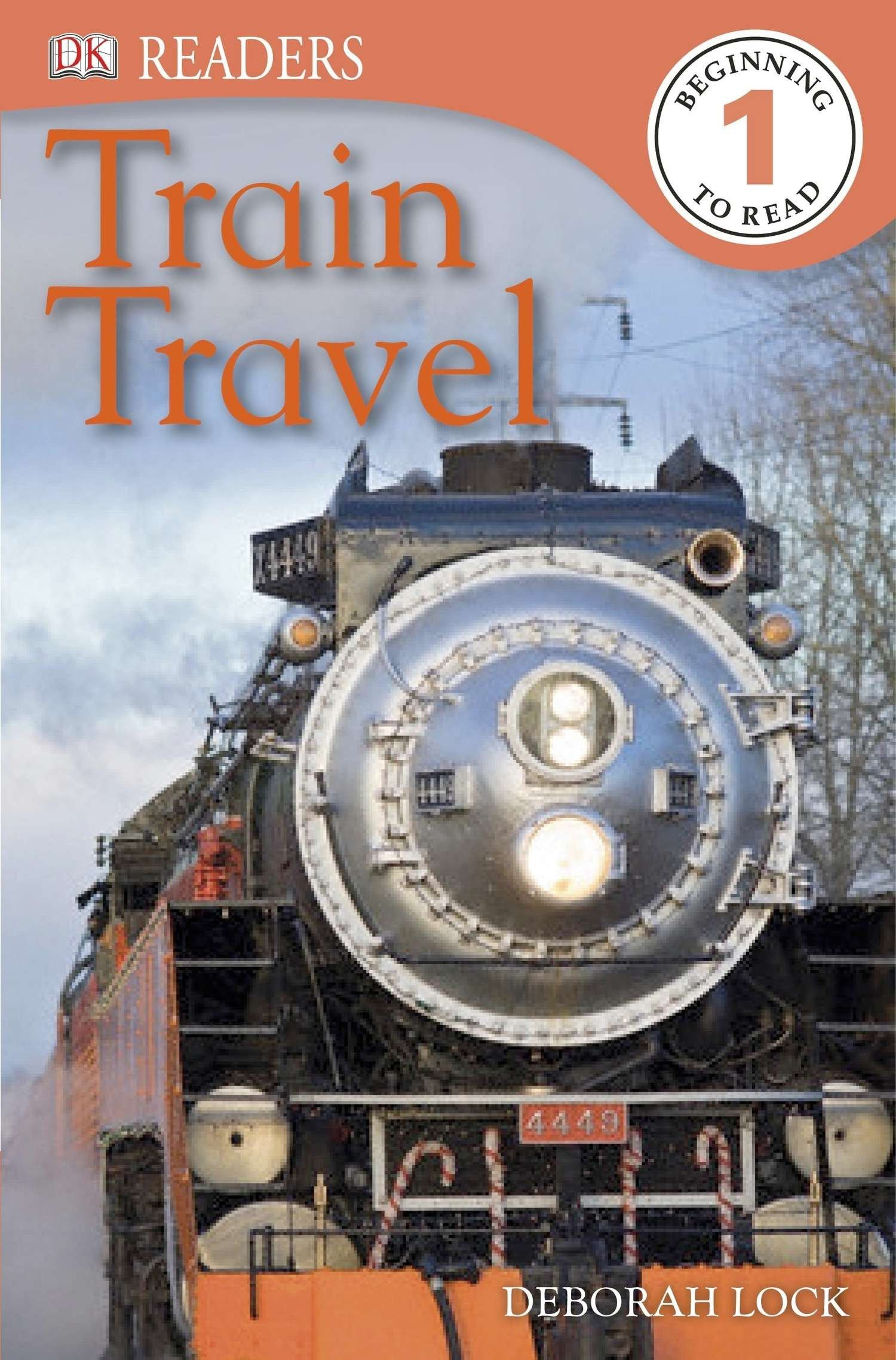 DK Readers L1: Train Travel (DK Readers Level 1)