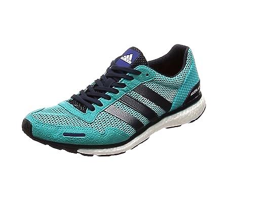 sports shoes 6516d e2d8e adidas Mens Adizero Adios 3 M Running Shoes, Blue (Hi-Res Aqua