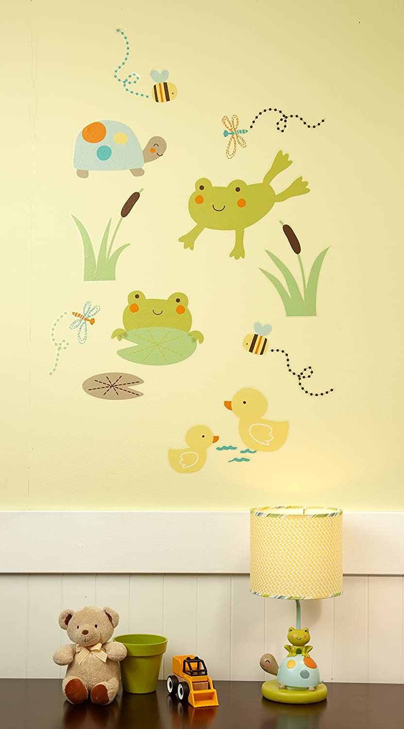 Amazon.com: Carter\'s Pond Collection Wall Decals: Baby