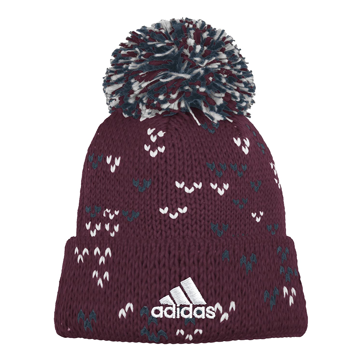 Amazon.com   MLS Colorado Rapids Women s Fan Wear Cuffed Pom Knit Beanie 83a6e96a65