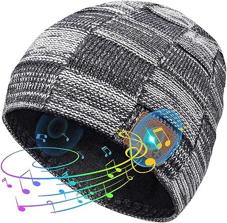 Regali Natale Uomo.Idee Regalo Natale Cappello Bluetooth Amazon It Elettronica