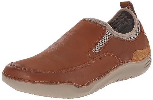 Mens Crofton Method Slip-On Loafer, Tan Leather, 15 M US Hush Puppies