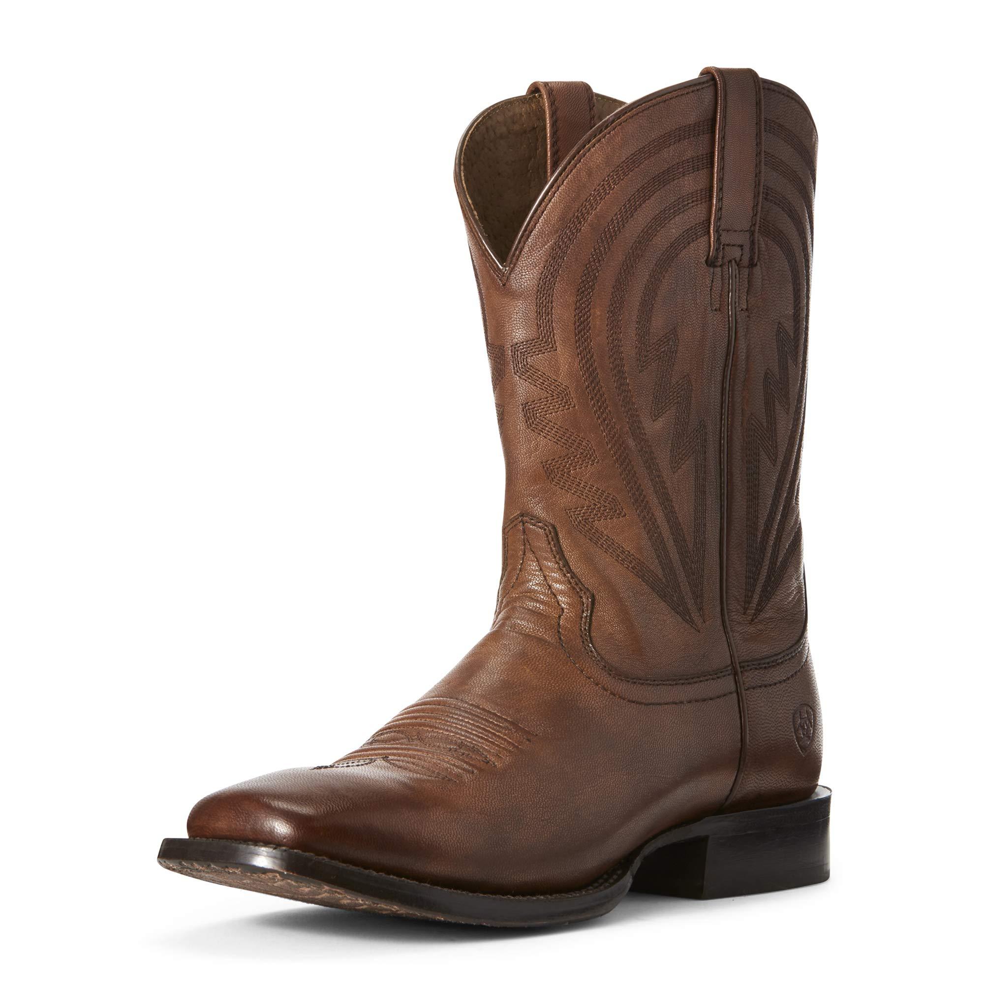 Ariat Men's Circuit Herd Boss Western Boot, Naturally Cognac, 11EE by ARIAT