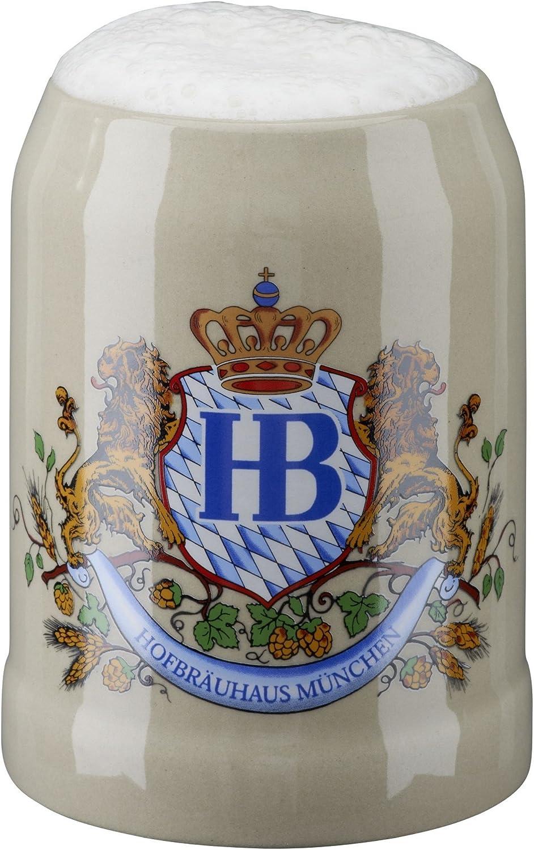 HB Hofbräuhaus München Jarra de Cerveza Alemana Múnich Hofbräuhaus München HB 0,25 litros King Werk KI 1000061