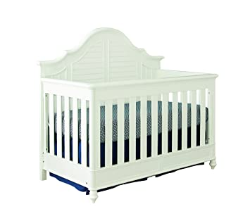 Bassett Baby Kids Nantucket 4 In 1 Crib White
