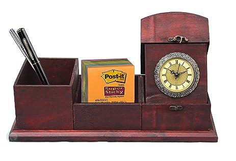 Vintiquewise(TM) Antique Desk Organizer - Amazon.com: Vintiquewise(TM) Antique Desk Organizer: Home & Kitchen