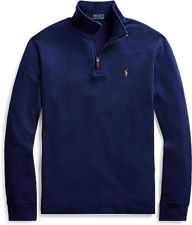 Polo Ralph Lauren - Jersey para hombre azul L: Amazon.es: Ropa y accesorios