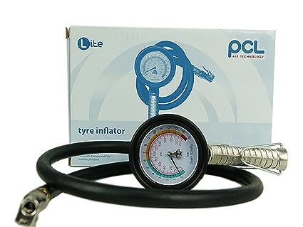 1 pieza de presión de neumáticos Pistola con manómetro de la marca PCL/Impresión/
