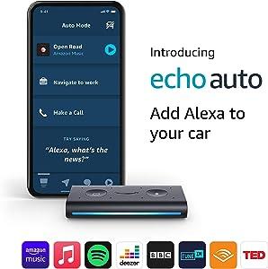 Echo Auto | Add Alexa to your car: Amazon.co.uk: Amazon Devices