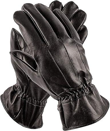 Pierre Cardin Men's Leather Gloves - Luxury Driving Gloves