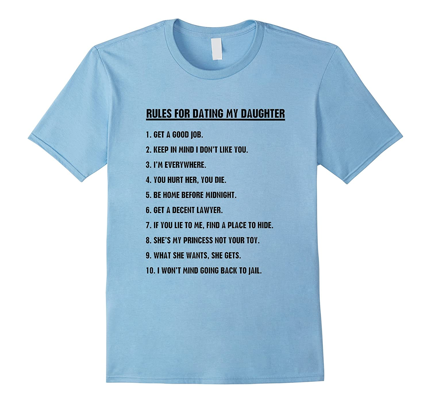 best rules of dating my daughter funny