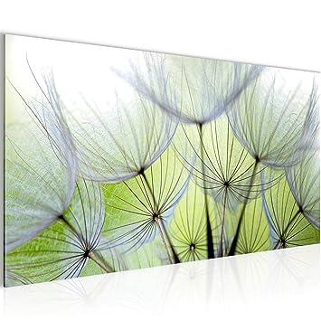 Runa Art Bilder Blumen Pusteblume Wandbild Vlies - Leinwand Bild XXL ...