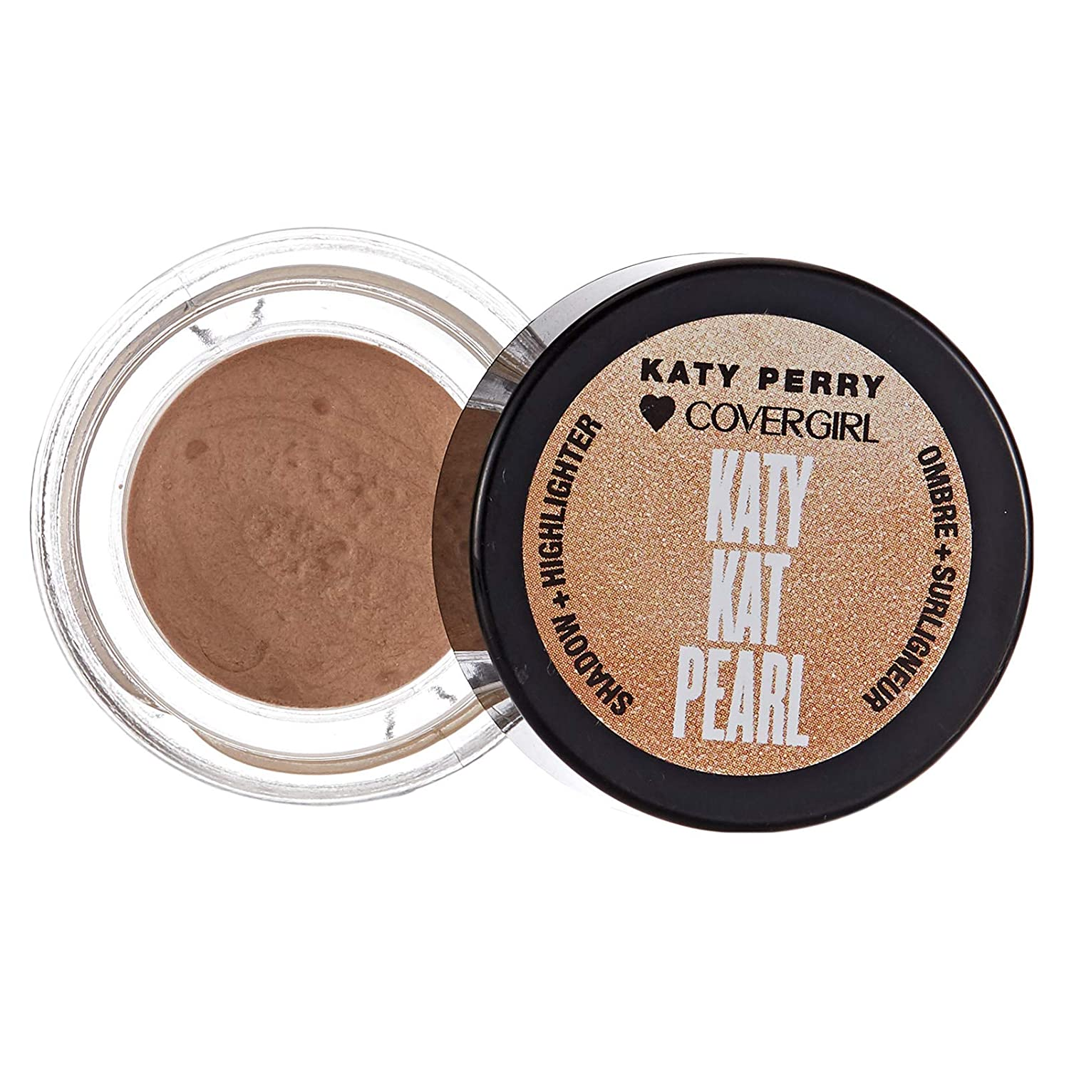 Katy Kat Pearl Shadow Highlighter – KP01 Tiger's Eye by CoverGirl for Women – 0.24 oz Eye Shadow