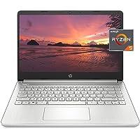 HP 14 Laptop, AMD Ryzen 5 5500U, 8 GB RAM, 256 GB SSD Storage, 14-inch Full HD Display, Windows 10 Home, Thin & Portable…