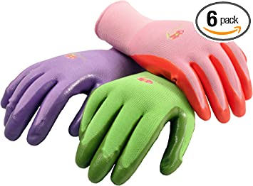 Women/'s Large Jersey Work Glove 2 PK