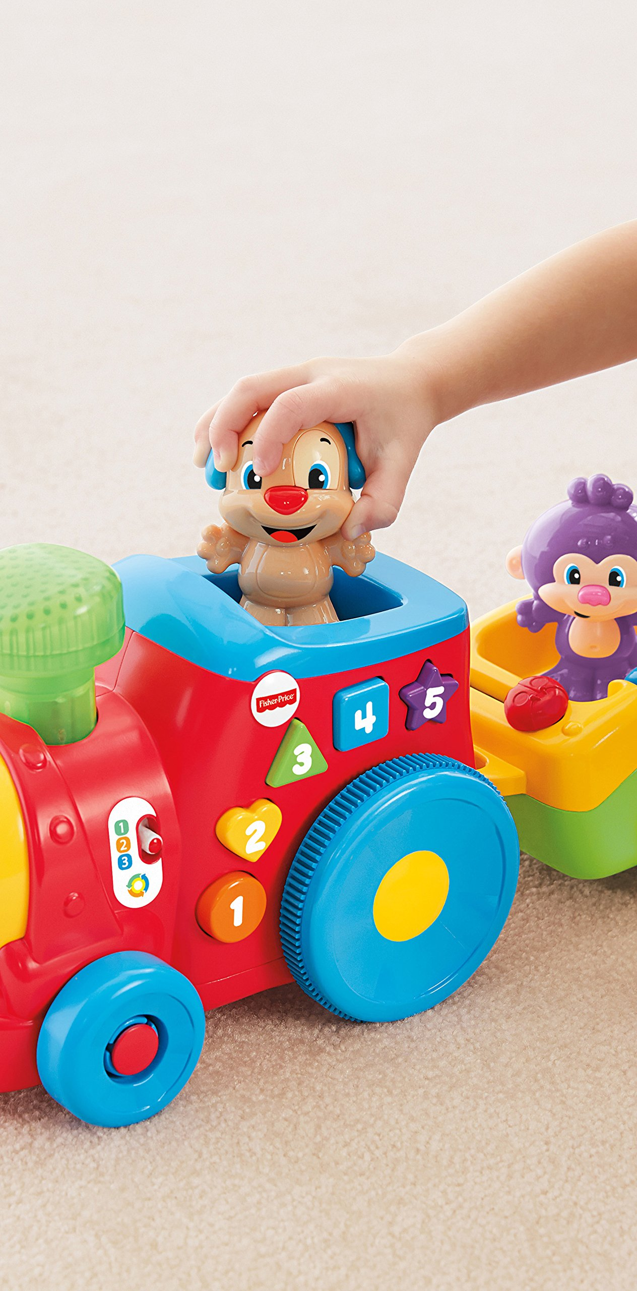 Fisher-Price Laugh & Learn Smart Stages Puppy's Smart Train by Fisher-Price (Image #13)