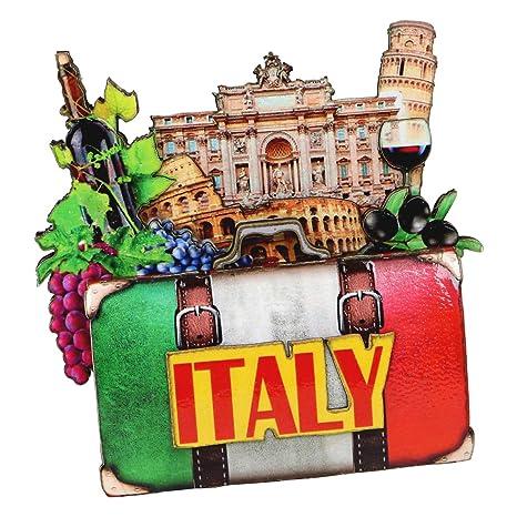 Amazon.com: city-souvenirs Italia adorno de Navidad 4 inch ...