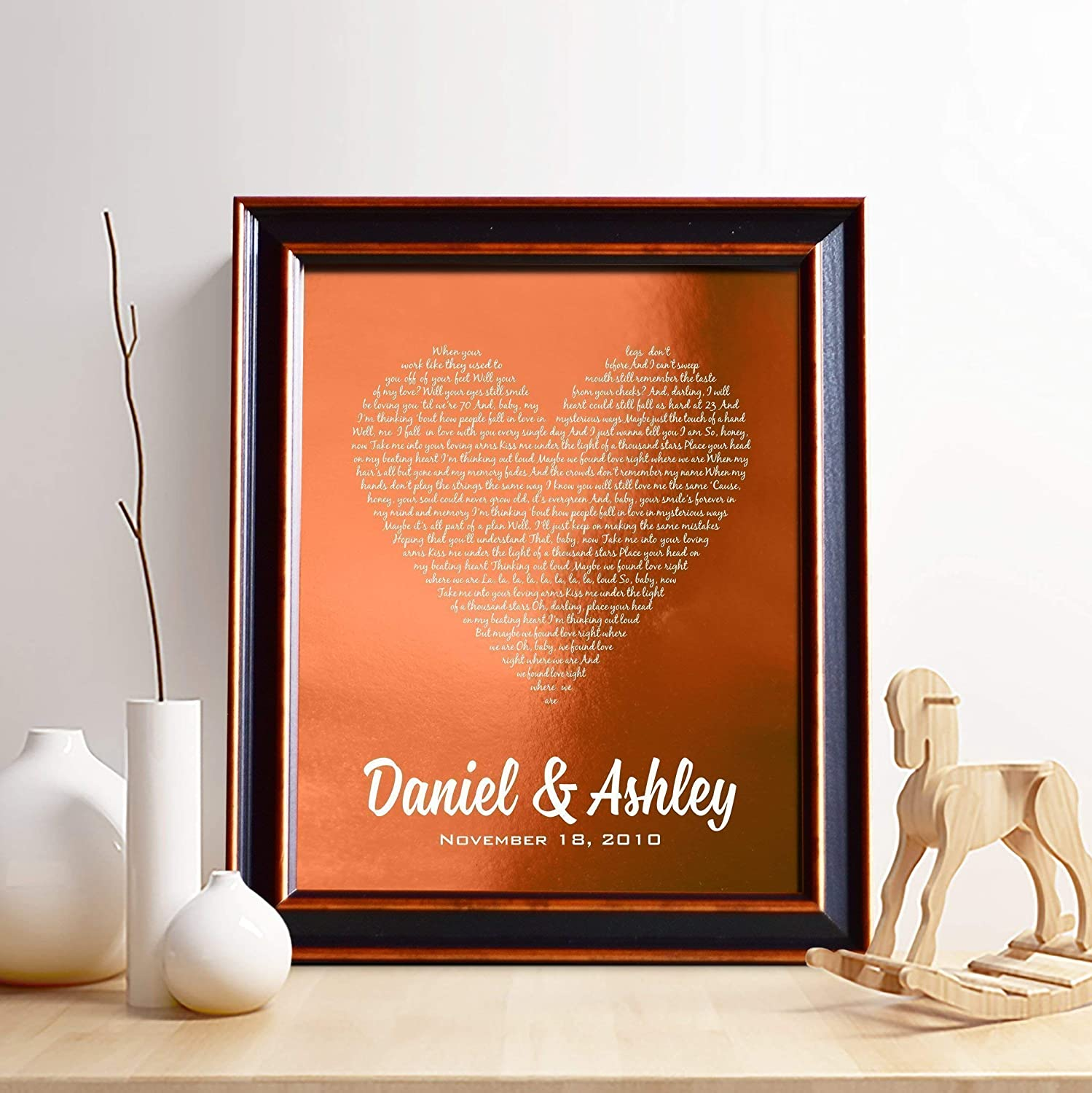 Amazon Personalized 7th Or 22nd Copper Anniversary Gift For Him