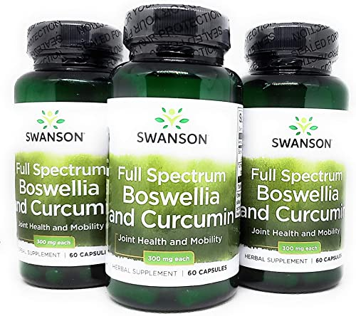 Swanson Full Spectrum Boswellia and Curcumin 60 Caps 3