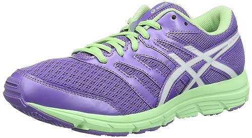 16938b53d ASICS Gel-Zaraca 4 GS - Zapatos de Entrenamiento de Carrera en Asfalto Unisex  niños  Amazon.es  Zapatos y complementos