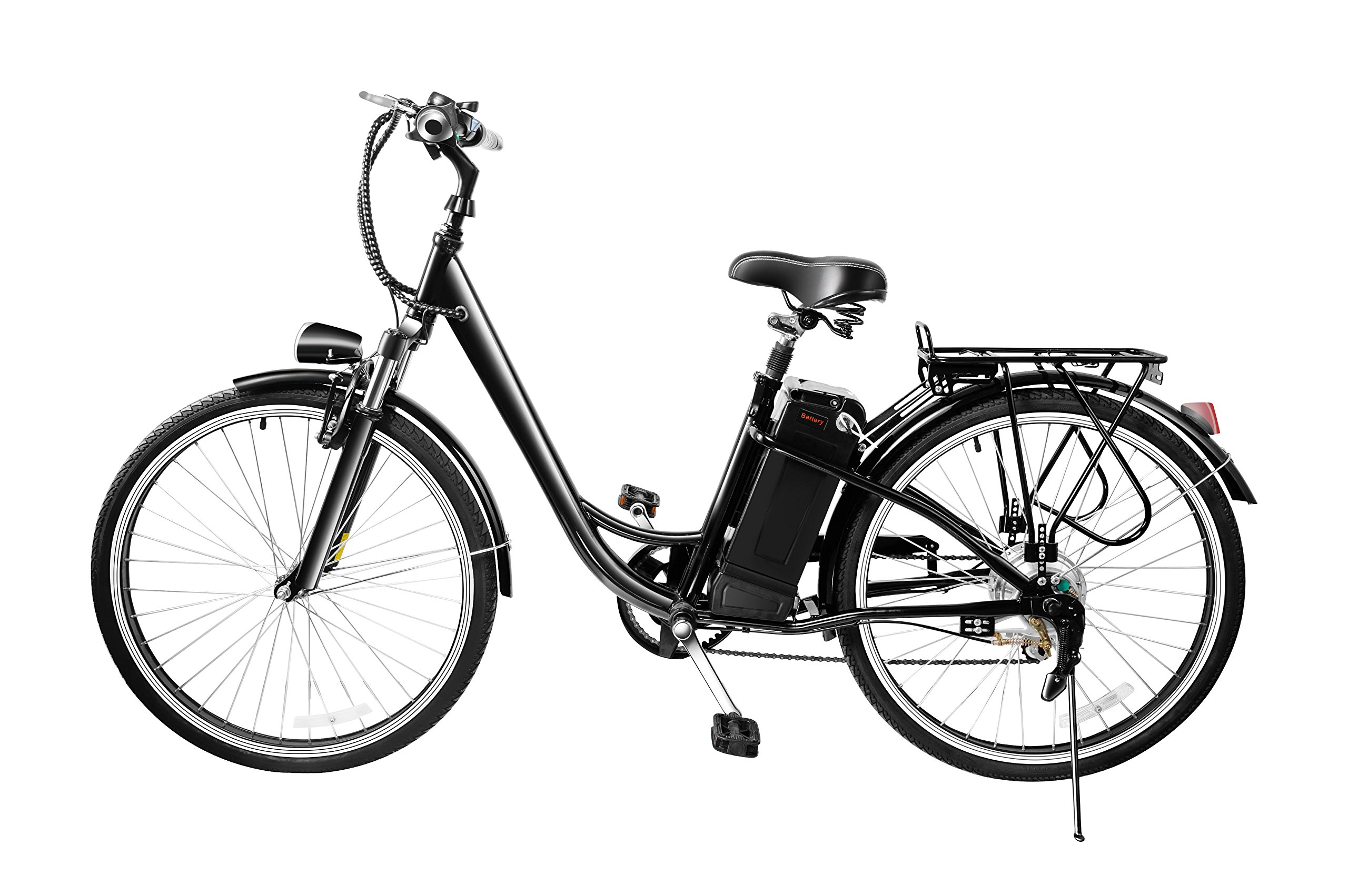 VEEKO 26'' City Electric Bicycle Ebike with 36V 10Ah Lithium Battery by VEEKO (Image #2)
