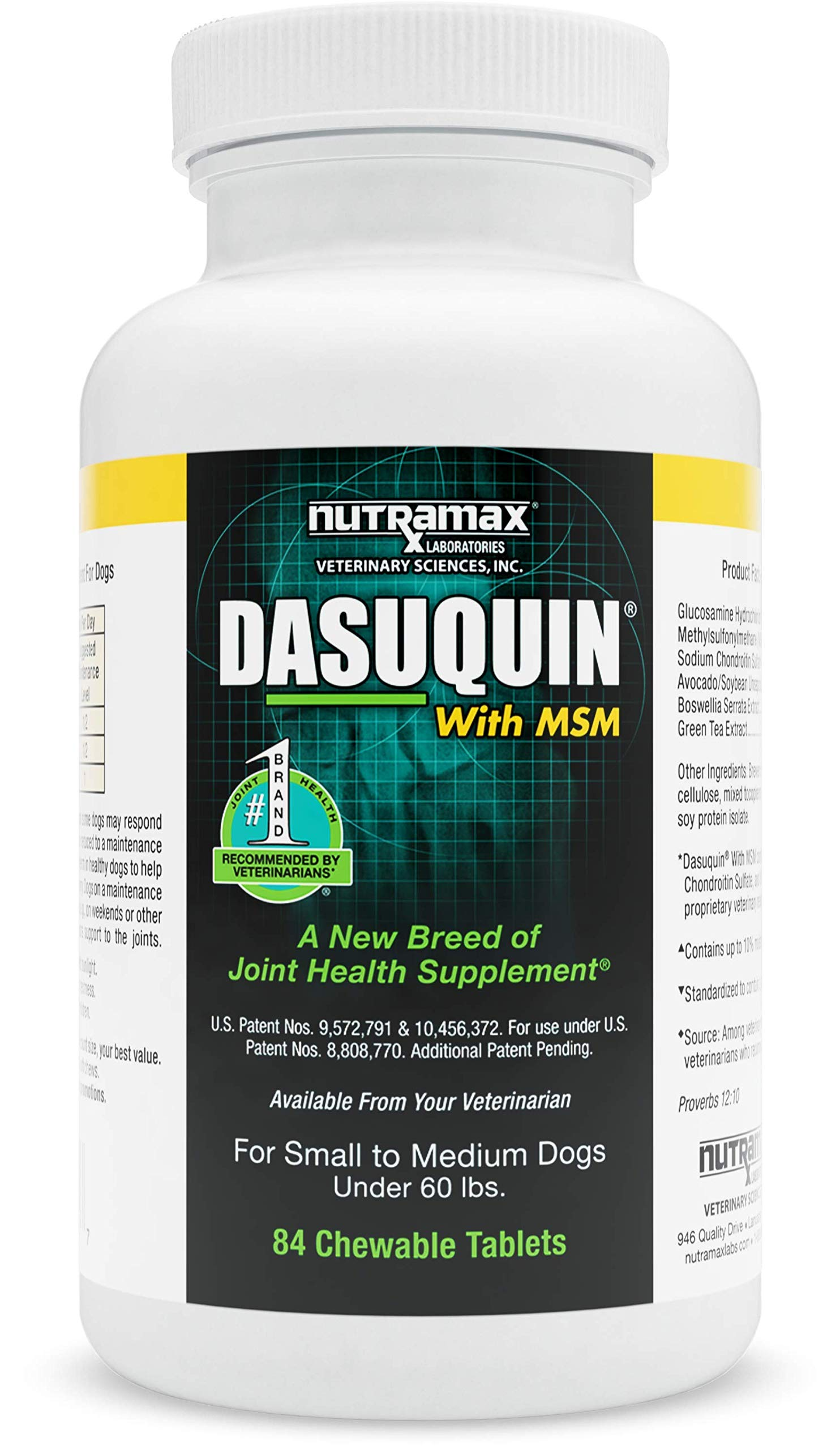 Nutramax Dasuquin with MSM Chewables, Large Dog